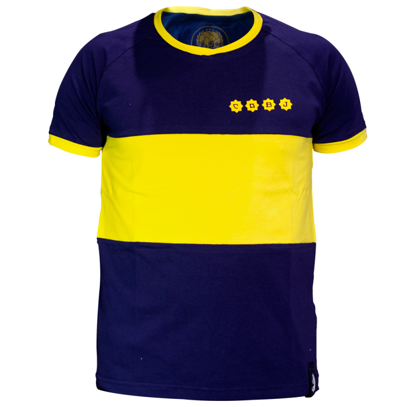 quality design b3c41 7a3d9 Camiseta Boca Juniors 1981 Maradona   Chic Authority - Moda ...