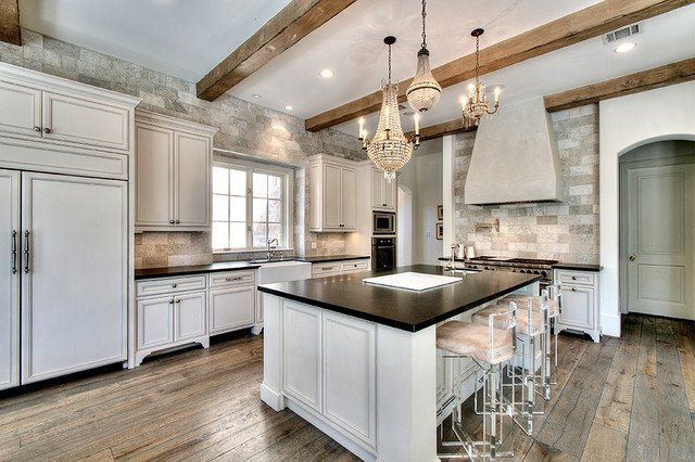 Gorgeous Kitchens Photos 18 gorgeous kitchens with natural stone backsplash | natural stone