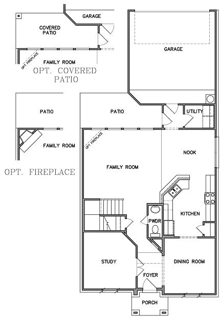 Sapphire Ii Floor Plans New House Plans One Story