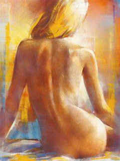 f211b5710728 desnudos-mujeres-espalda-pintura | Pinturas y cuadros artísticos ...