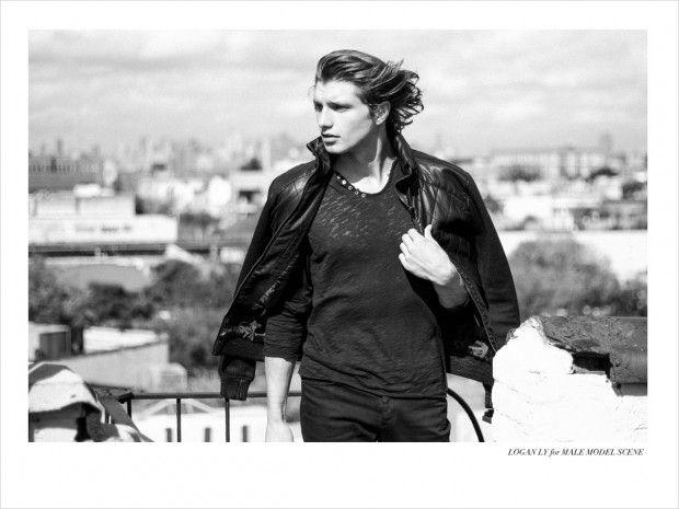 Tyler James by Logan Ly for Male Model Scene