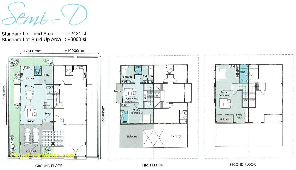 Semi D House Floor Plan House For Rent Near Me House