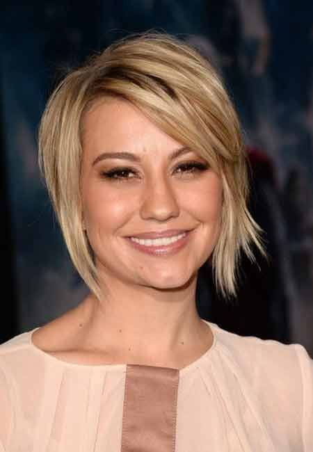 25 Charming Celebrity Short Haircuts: #4. Chelsea Kane\'s Nice and ...