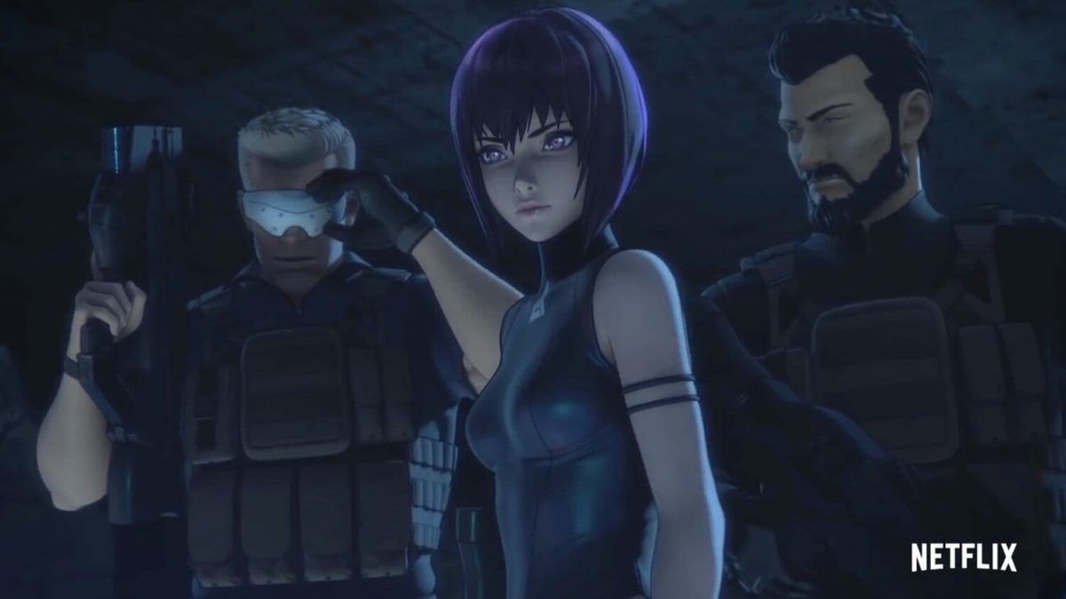 Netflix S Ghost In The Shell Sac 2045 Gets Its First Full Action Packed Trailer Geek Culture In 2020 Ghost In The Shell Anime Release Geek Culture