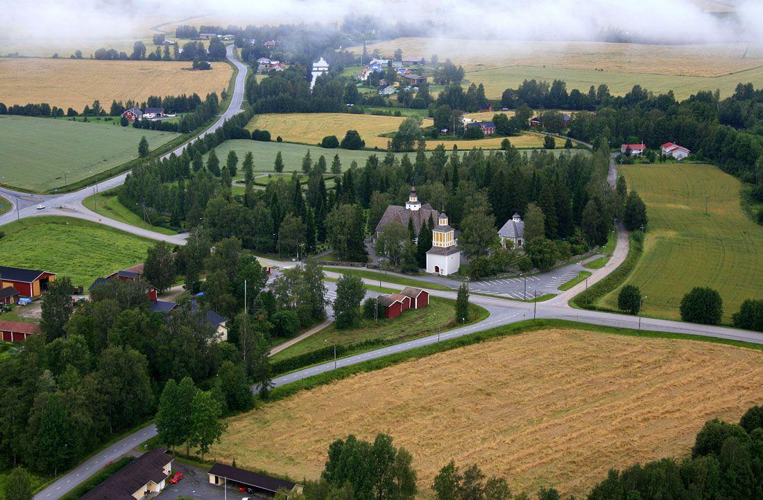 Nurmo Lutheran church, South Ostrobothnia province of Western Finland. - Etelä-Pohjanmaa.