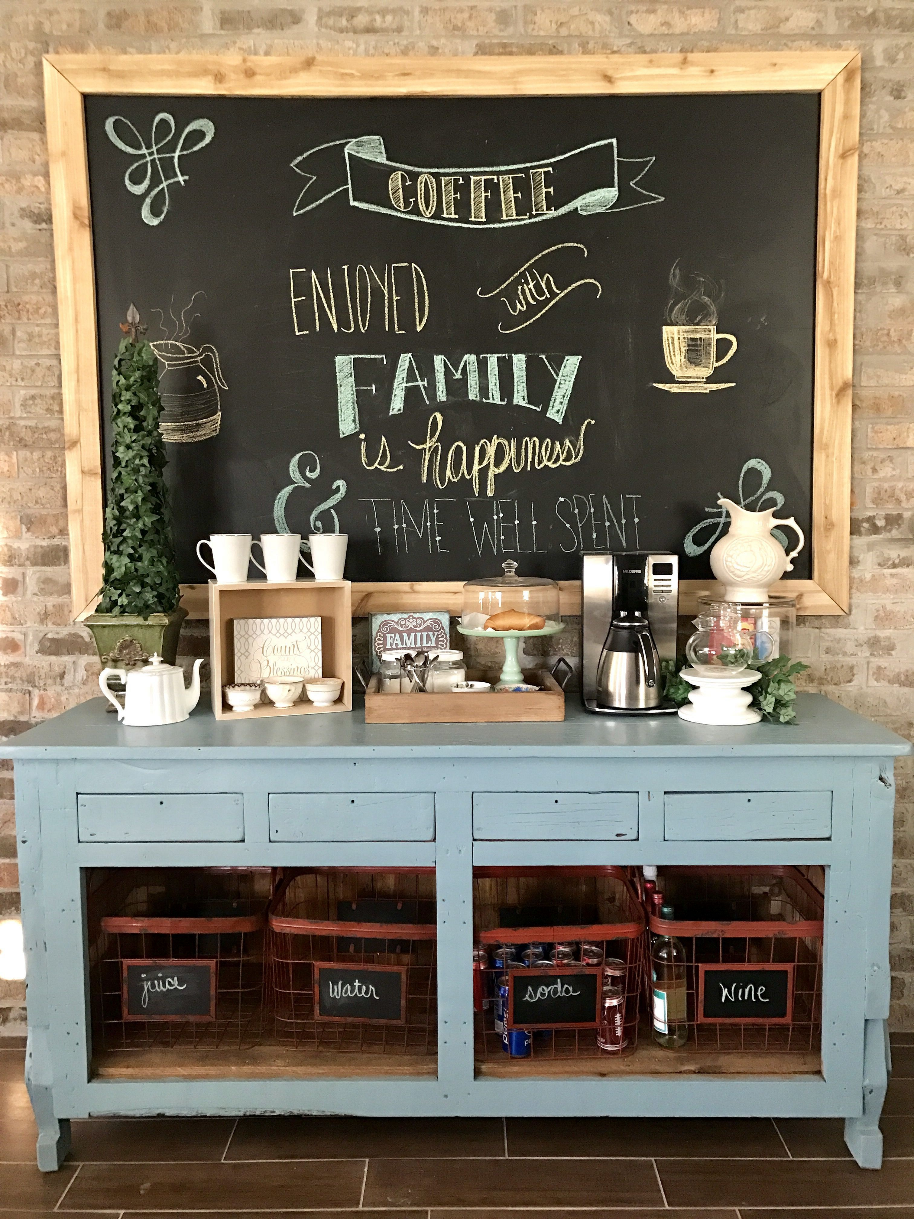 12 Best Home Coffee Bar Ideas That Look More Awesome At Your Home Coffeebarideas Homecoffe Diy Coffee Bar Diy Coffee Station Home Coffee Bar