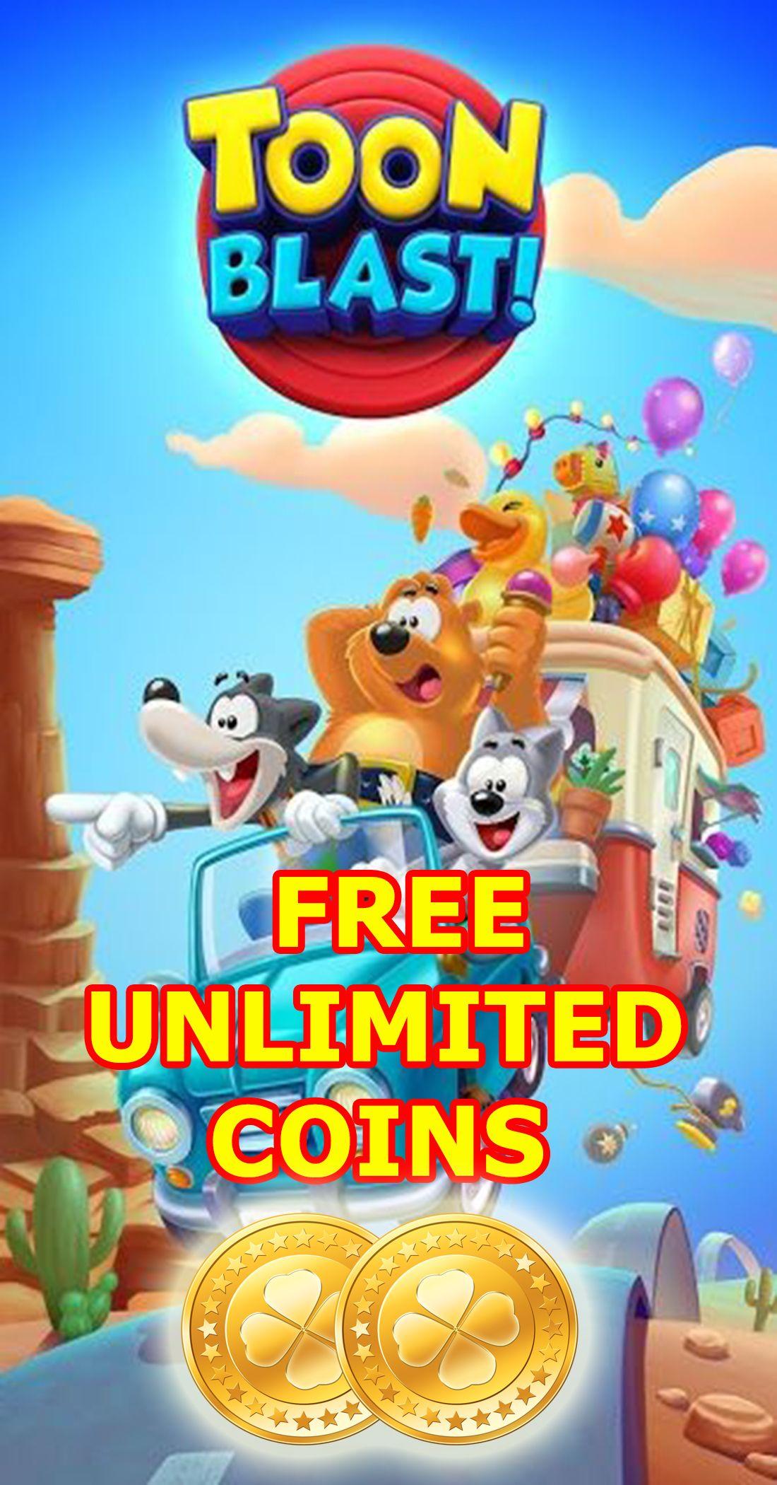 Toon blast free coins in 2020 Coins, Free episodes, Got game