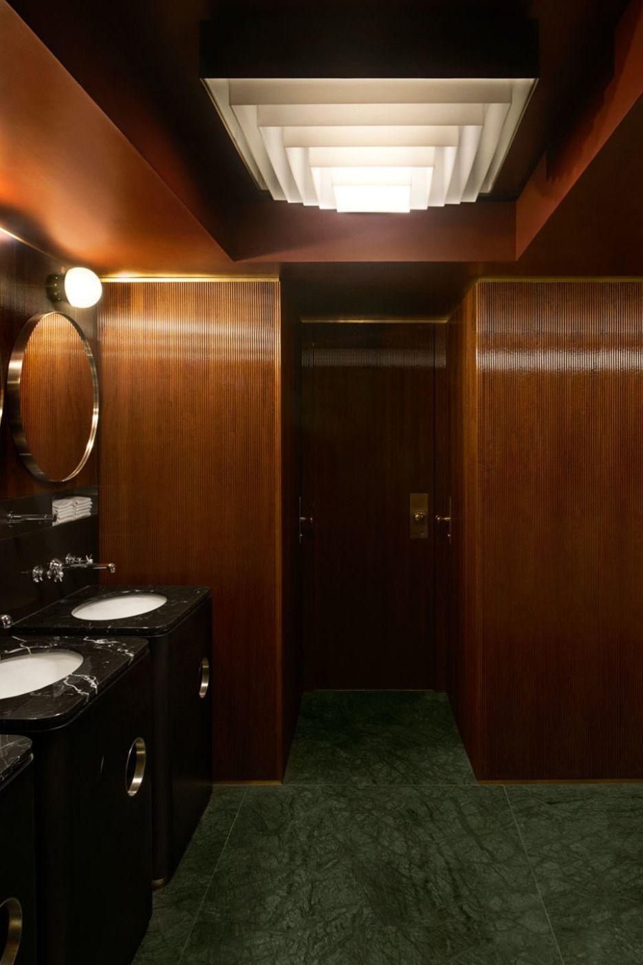 7 vintage bathroom designsdimore studio  london clubs