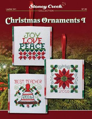 Holiday Ornaments Collection Leaflet for counted cross stitch
