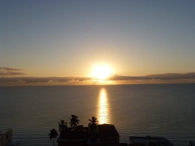 Sunrise in Polana, Mozambique