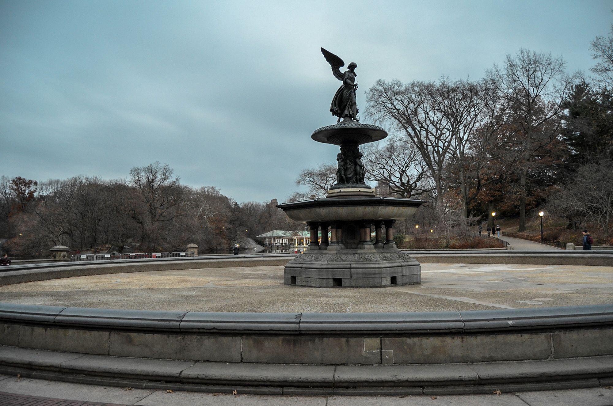 Fuente de Bethesda, Central Park