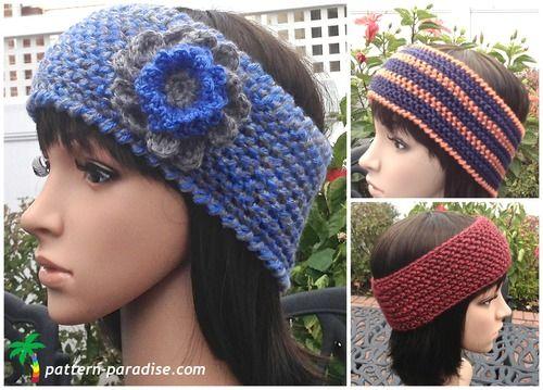 Wildly Warm Crochet Headband   Easy crochet, Crocheted headbands and ...
