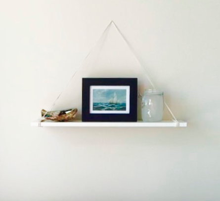 half off 3f9a4 a15b5 A hanging shelf with no nails, screws or glue. Is this magic ...