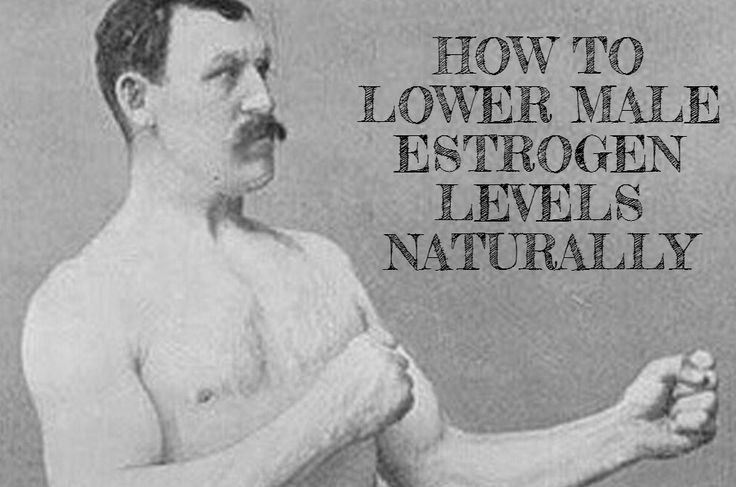 how to lower testosterone in men