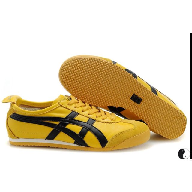 Go retro with Asics Onitsuka Tiger Mexico 66 Sneakers as seen on Bruce Lee  in Game