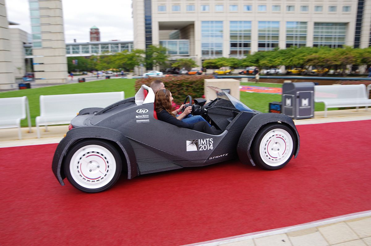 The Local Motors Strati, The World\'s First 3D-Printed Car | Carbon ...