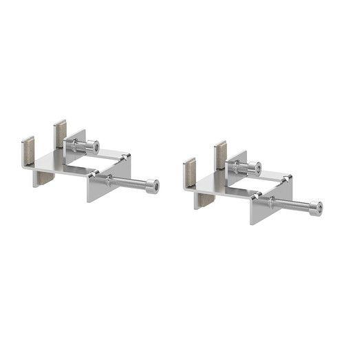 IKEA - LINNMON, Conector,  , , El accesorio de unión no raya el tablero porque está recubierto con fieltro.