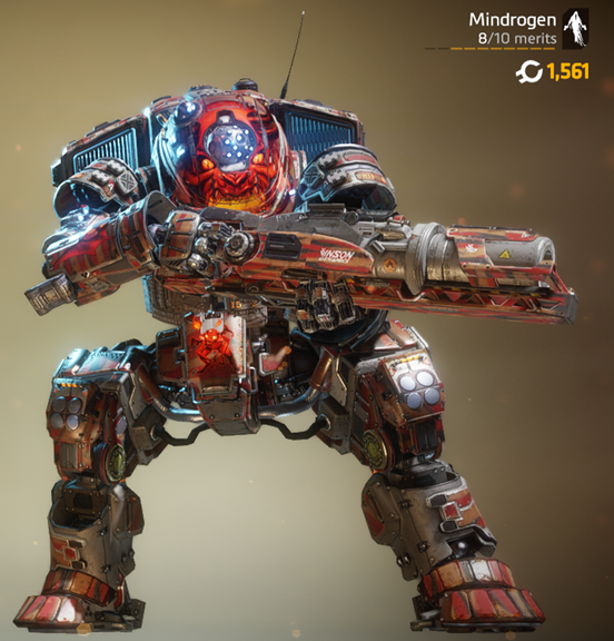 scorch with summoning the demon nose art and blood zebra camo