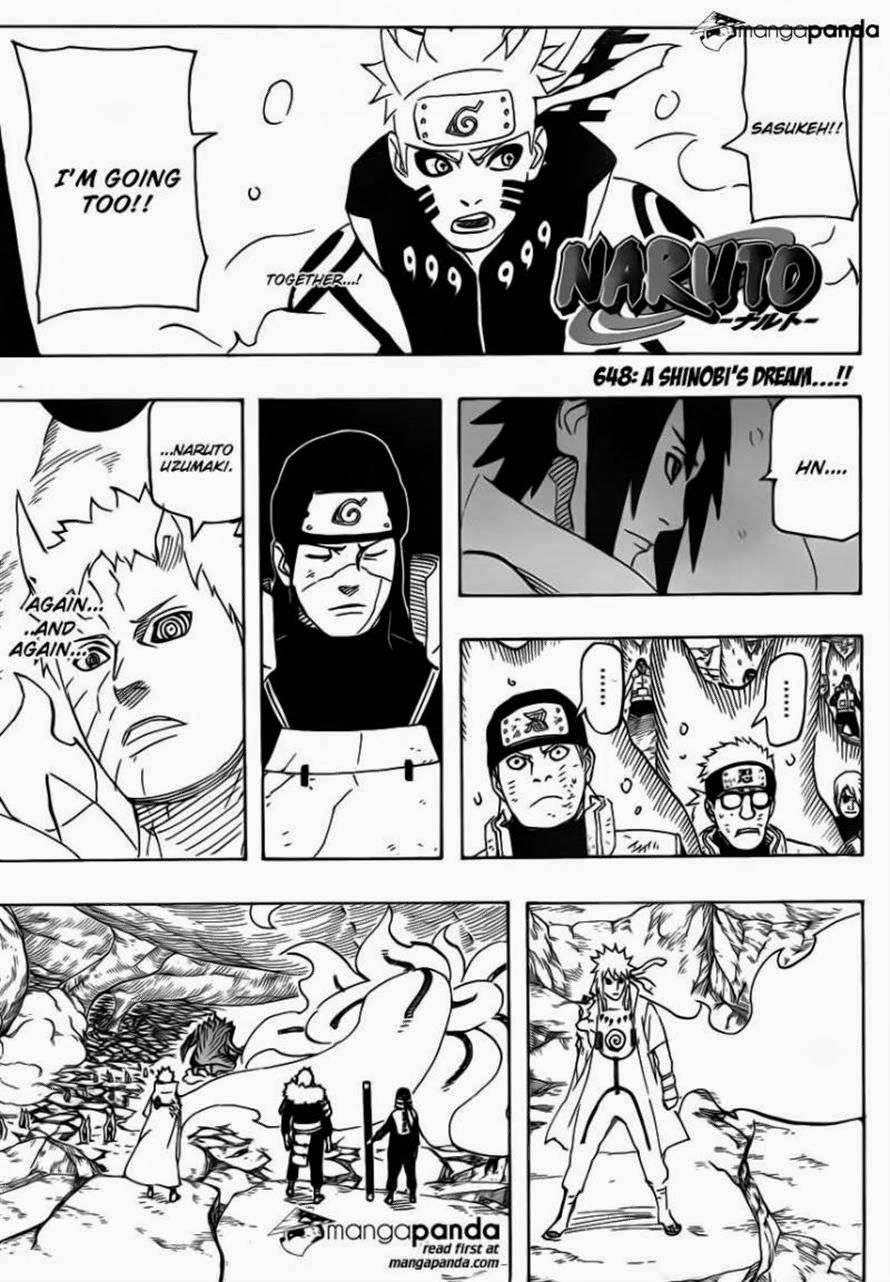 Naruto 649 Manga Page 1 Start reading Naruto 649 in this