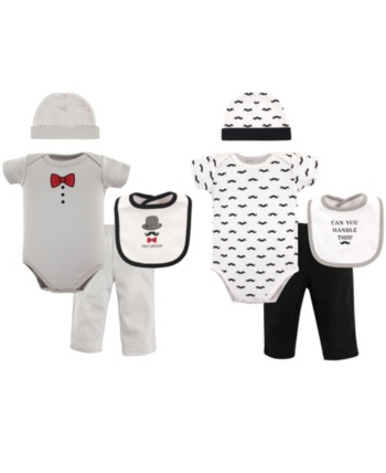 8-Piece Set Hudson Baby Unisex Baby Grow with Me Box