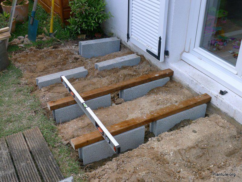 Poser Une Terrasse En Bois Construire Terrasse Bois Terrasse Bois Construction Terrasse
