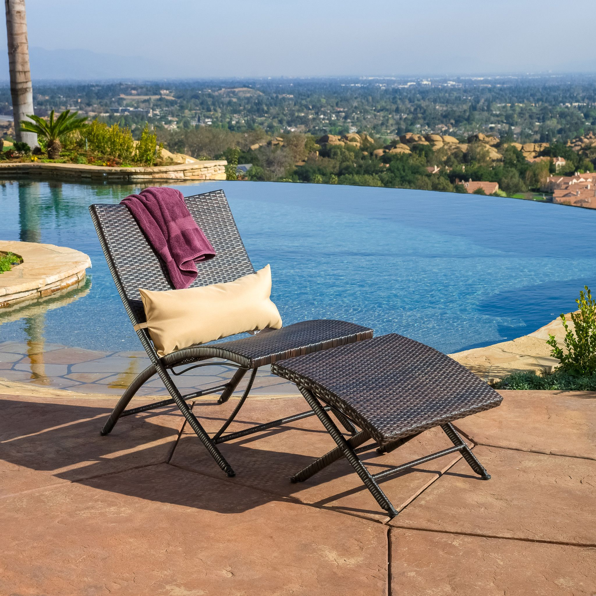 Outdoor Chaise Lounge Chair With Ottoman Tufted Dining Chairs Nailheads Selma And New House Ideas Pinterest