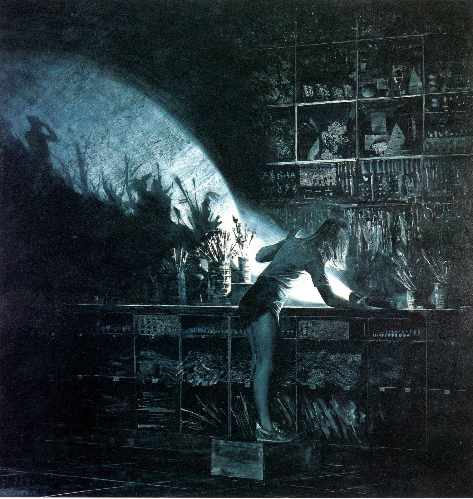 the hellenistic characteristics in lens by mark tansey