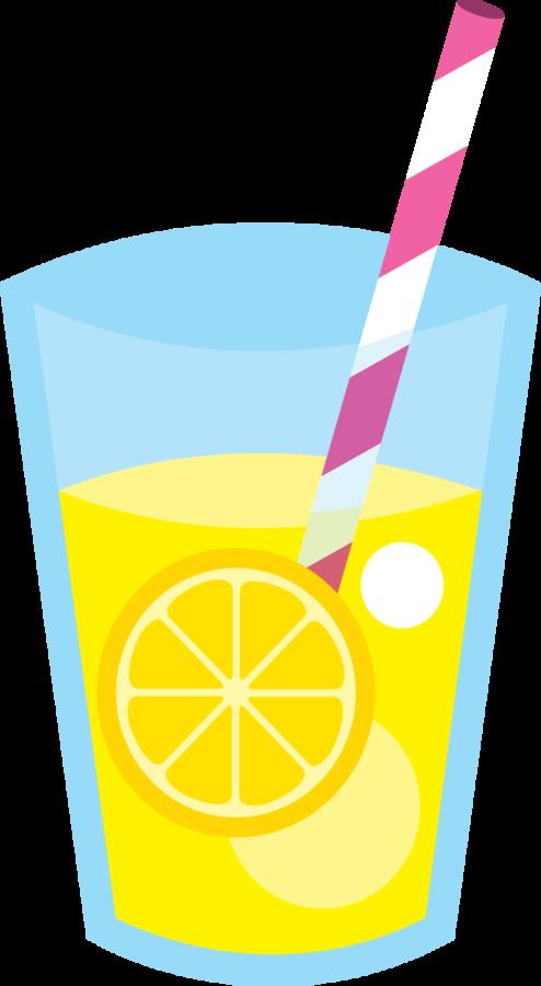 glass of lemonade stuff clip