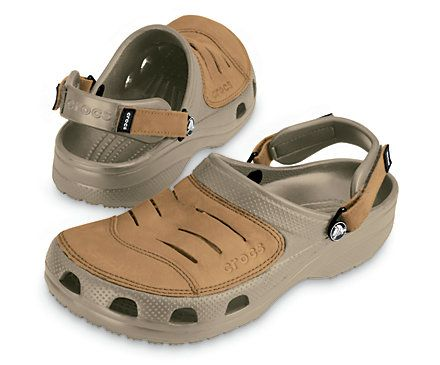 Crocs Yukon Mens Comfortable Clog Crocs Shoes Official Site Crocs Shoes Mens Casual Shoes Brown Leather Sandals