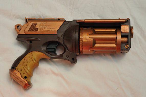 Picture of Paint a Nerf Gun (n-strike Maverick)