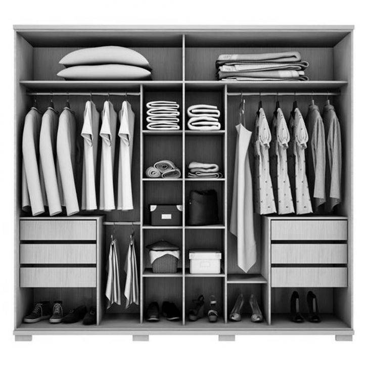 Diy Closet Organization His And Hers