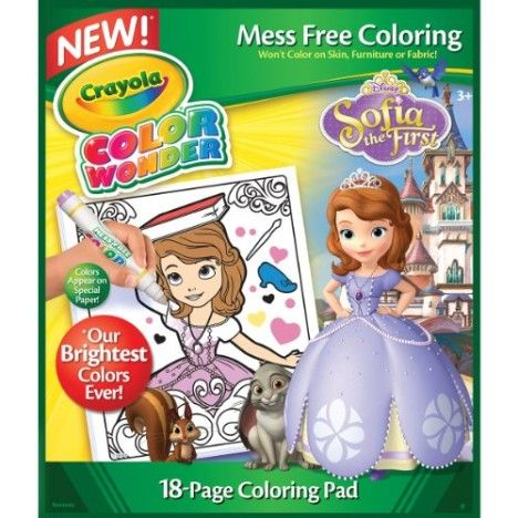 Crayola Sofia The 1st Color Wonder Refill Book | Advertise Your Best ...