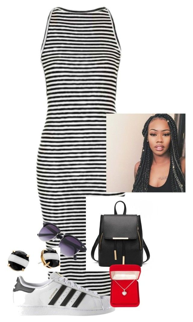 """""""#"""" by saii15 on Polyvore featuring Topshop, adidas, Alexa Starr and Kate Spade"""