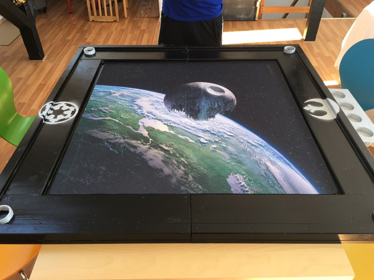 I Build My Own Xwing Table What Do You Think X Wing X Wing Miniatures Star Wars Games