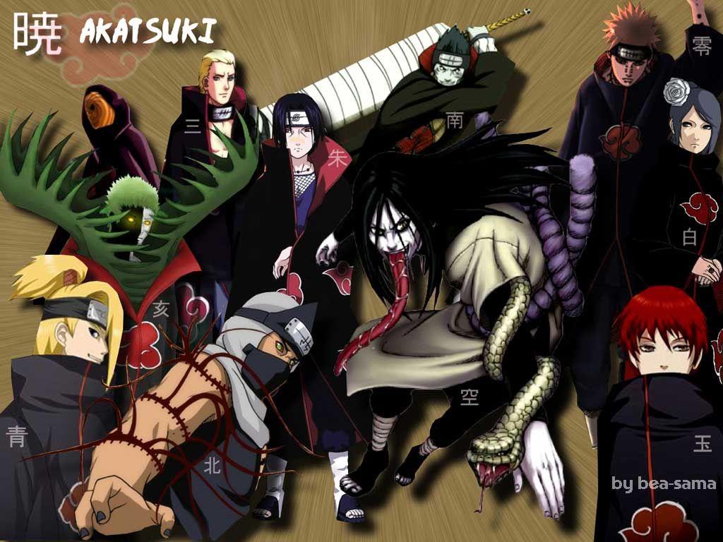 Naruto Shippuden Akatsuki Orochimaru Anime Naruto Wallpaper