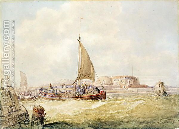 George Chambers:The Old Harbour, Hull