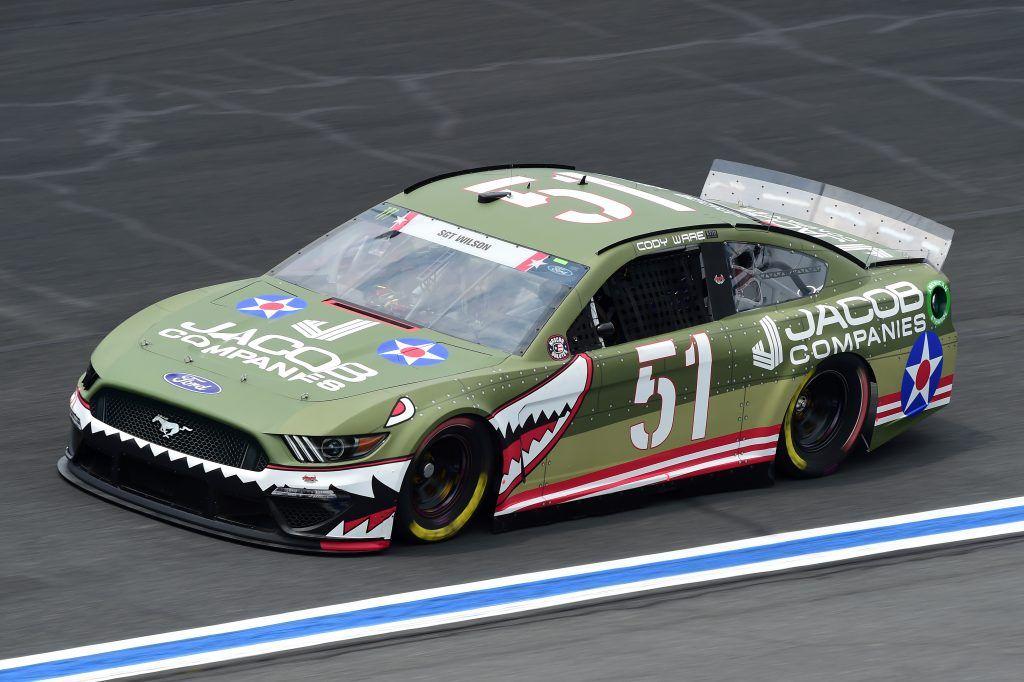 2019 51 Rick Ware Racing Paint Schemes Bristol Motor Speedway