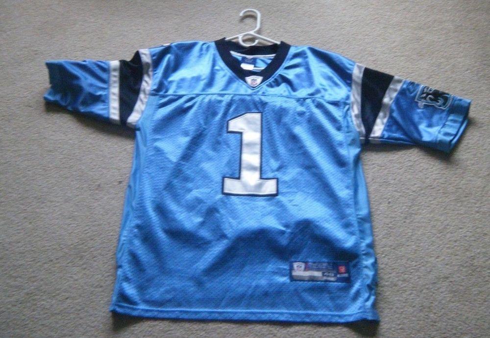 finest selection cb1aa d5914 Cam Newton Carolina Panthers NFL Blue Reebok Jersey Men's ...
