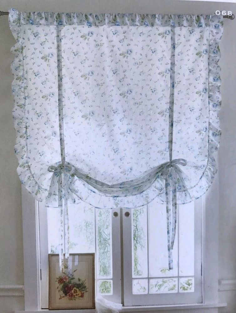 Target Simply Shabby Chic Ruffle 1 Window Tie Up Panel Blue Rose 42x63 New Shabby Chic Bedrooms Simply Shabby Chic Tie Up Shades