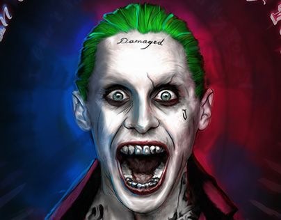 "Check out new work on my @Behance portfolio: ""Jared Leto as The Joker - Suicide Squad"" http://be.net/gallery/33185453/Jared-Leto-as-The-Joker-Suicide-Squad"