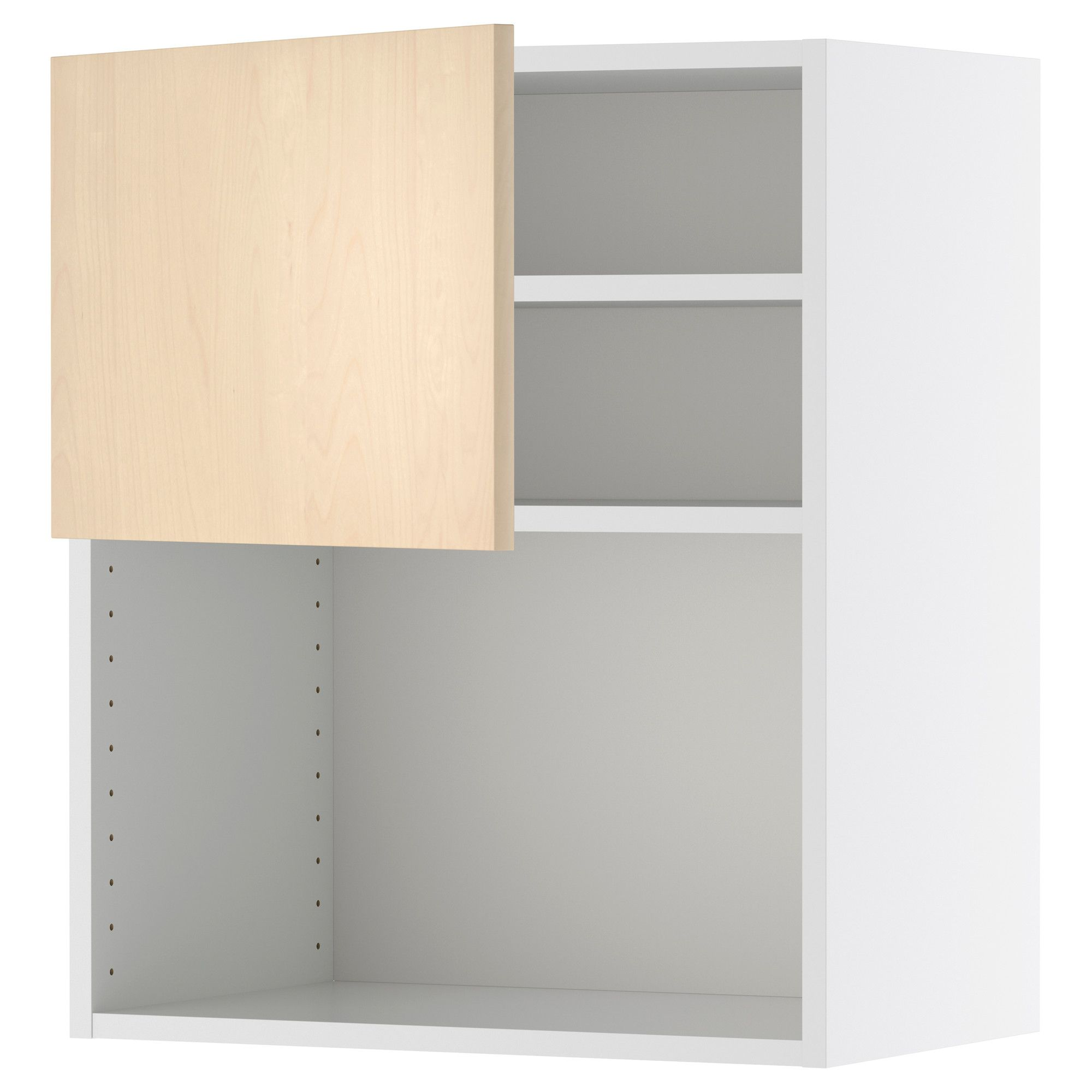 Ikea Küche 60x70 Faktum Wall Cabinet For Microwave Oven Nexus Birch
