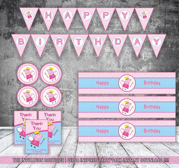 Birthday Decoration Material List