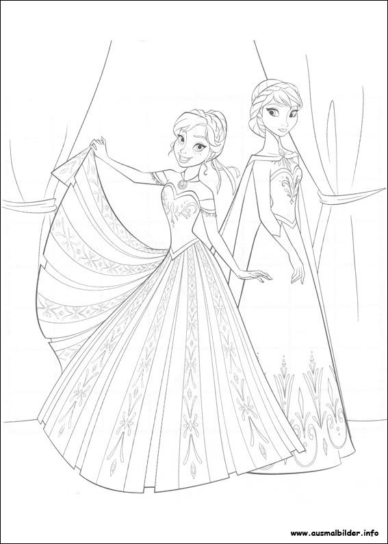 Die Eiskonigin Vollig Unverfroren Malvorlagen Princess Coloring Pages Frozen Coloring Pages Disney Coloring Pages