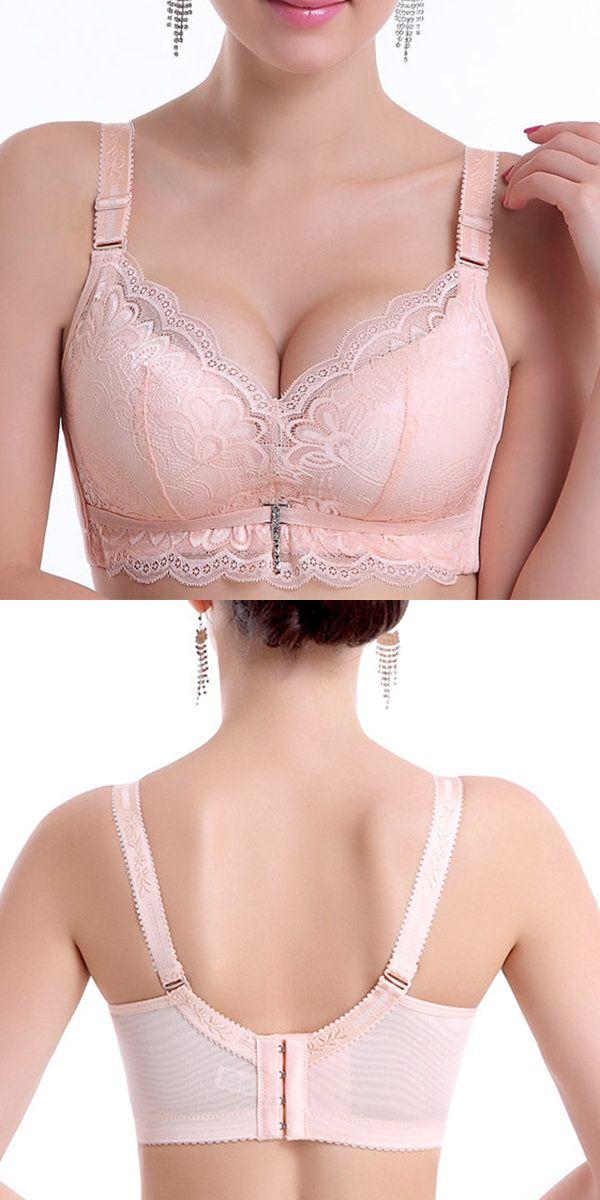 Sexy Lace Progressive Wireless Breathable Soft Bras  fashion  style  bra cce436152