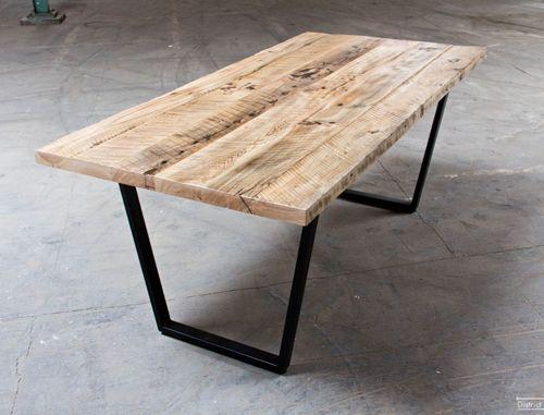 Best 25 mesas de madera reciclada ideas on pinterest - Mesas hechas con cajas de madera ...