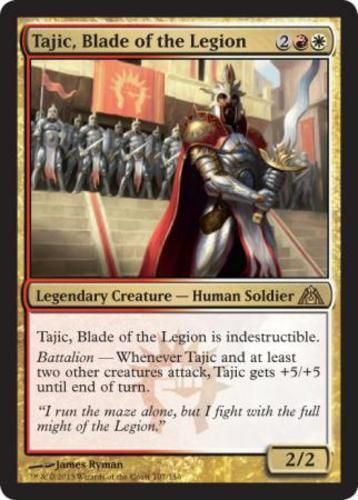 Tajic, Blade of the Legion mtg Magic the Gathering rare red