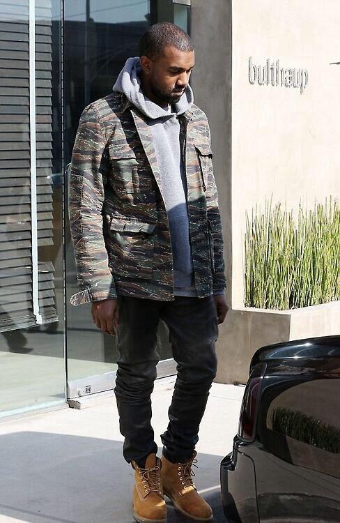 classic fit 81a81 69486 APC Tiger Camo Jacket. Kanye West.