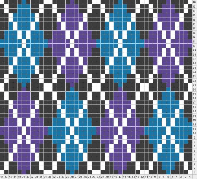 Diamond Argyle | Knitting pattern | Pinterest | Diamond, Tapestry ...