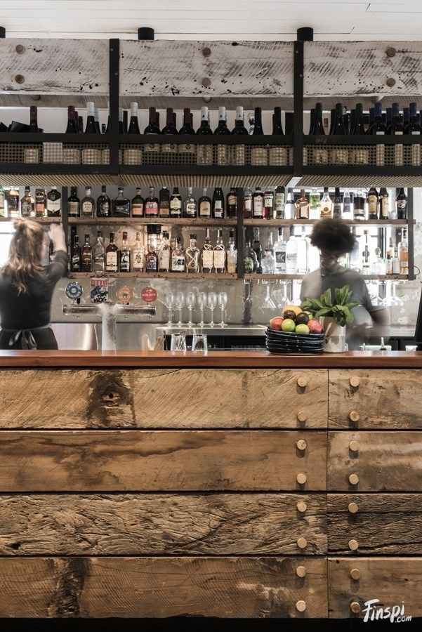 Rustic And Industrial Bar Design In Australia The Nelson