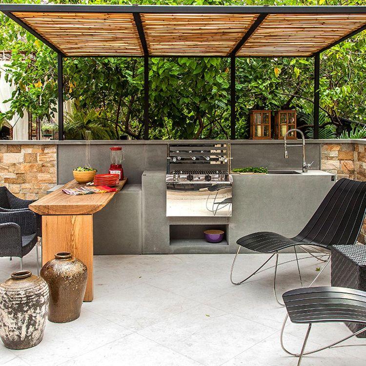 Kuchenplatte outdoor for Outdoorkuche mit grill